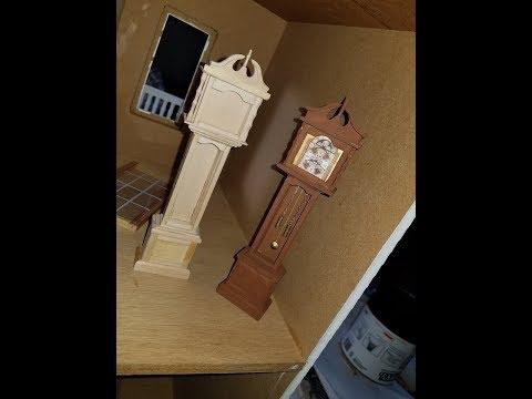 Dollhouse Grandfather Clock (Part 1,2 &3)