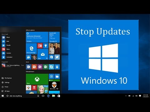 How to stop windows 10 Auto Updateing || How to stop windows 10 update assistant permanently