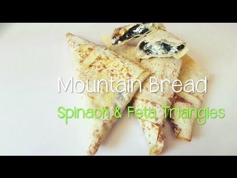 Mountain Bread™ - Spinach & Feta Triangles