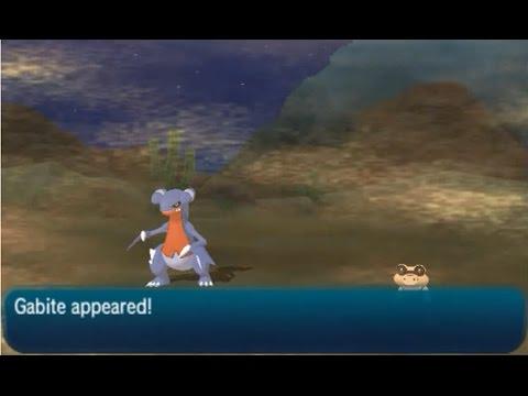 How to Catch Gabite - Pokémon (Ultra) Sun & Moon