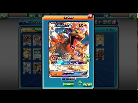Pokemon TCG -Charizard GX - Standard Format Deck - BREAKthrough - on!