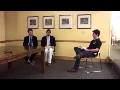 Student Council Election Interviews - Part 1