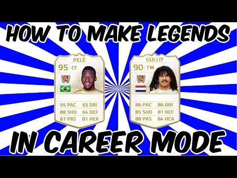 FIFA 14 - How to create LEGENDS in Career Mode!