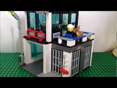 CUSTOM LEGO Police Station