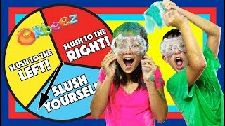 Messy SLUSH and SPIN GAME! | Official Orbeez