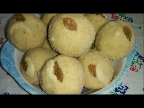 Rava Ladu recipe / How To make Rave Ladu Recipe In Kannada / Diwali special sweet recipe