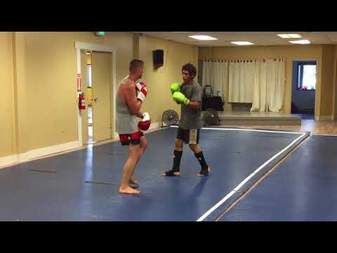 sparring/coaching Muay Thai #1