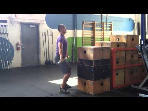 Snatch High Pull - Self Correction