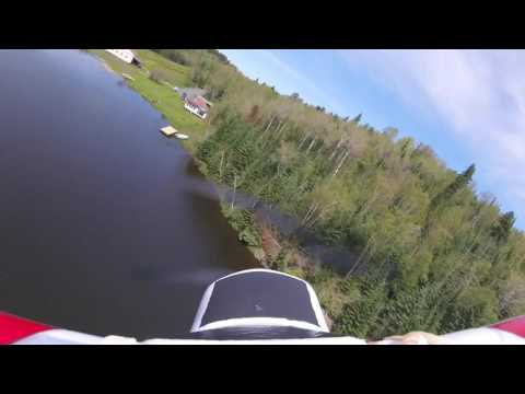 Hobby zone supercub s float flying with GoPro