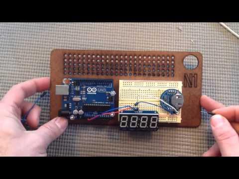 Arduino for Beginners   27 Building a digital clock