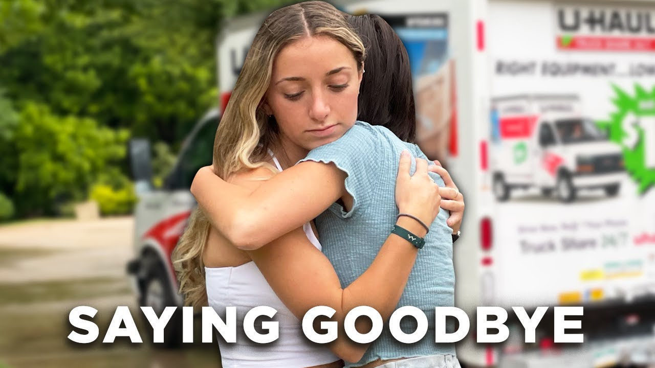 Twin Sisters Say GOODBYE 😭 | Brooklyn Moves Out (to Utah)
