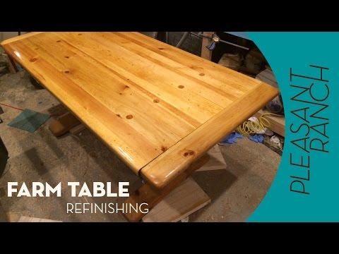 Farm Table Refinish