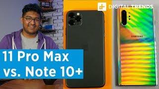 Apple iPhone 11 Pro Max vs. Samsung Galaxy Note 10 Plus
