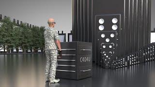 Domino Effect Animation V1