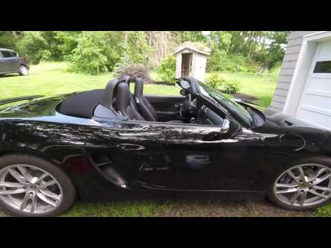 Oil change on a Porsher Boxster 981