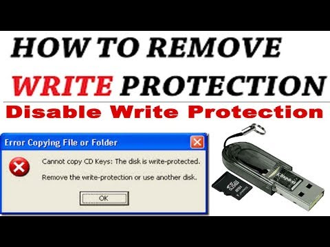 HOW TO DISABLE WRITE PROTECTION IN PEN DRIVE/MEMORY CARD USING CMD?How to Remove Write Protection?