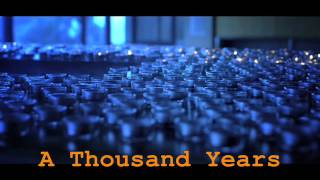 A Thousand Years By Christina Perri Official Video With Lyrics