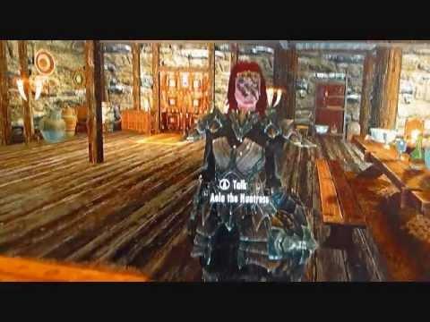 Hearthfire DLC 'Kids' Dialogue with Aela the Huntress