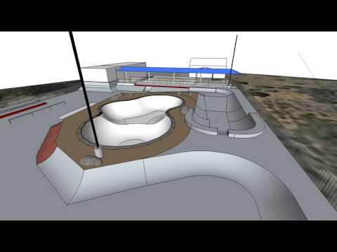 Colfax, CA skatepark design proposal