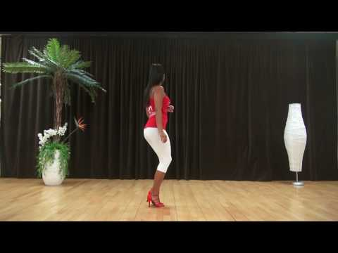 LEARN TO DANCE BACHATA LADY STYLE  www.bachatasalsaonline.com