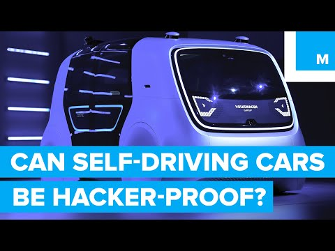 3 Security Issues Facing Self-Driving Cars
