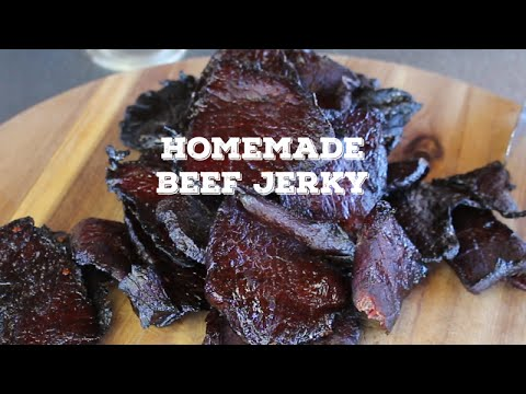 Homemade Beef Jerky | On the the Traeger Grill