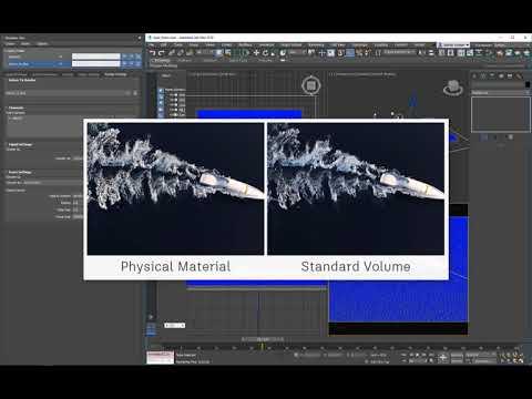 3ds Max Fluids Part 4 - Foam Rendering Techniques