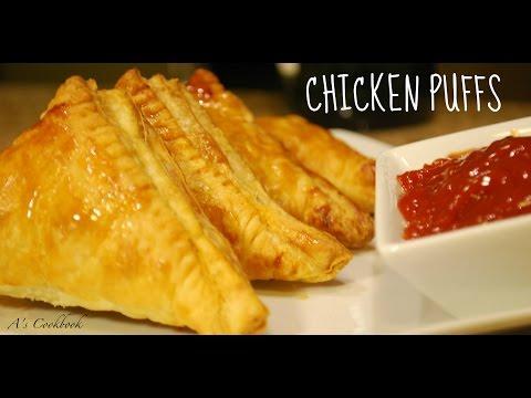 Chicken Puffs/ Patties Recipe