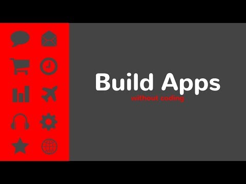 Best Mobile App Software Without Coding? 2018