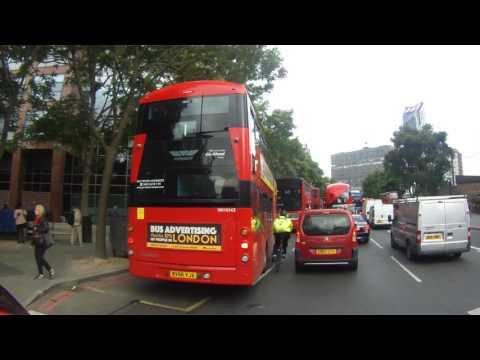 BV66VJA TFL London Bus Close Pass