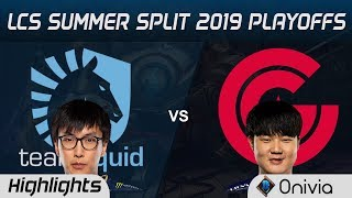 Download TL vs CG Highlights Game 1 LCS Summer 2019 Playoffs Team Liquid vs Clutch Gaming LCS Highlights by O Video
