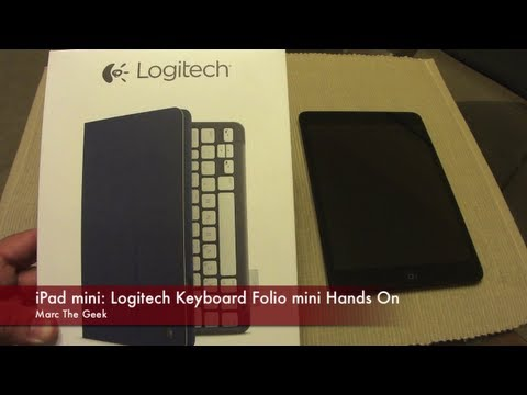 iPad mini: Logitech Keyboard Folio Mini Hands On