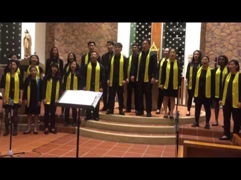 When You Believe - St Francis Xavier Youth Choir - 20 Dec 2015