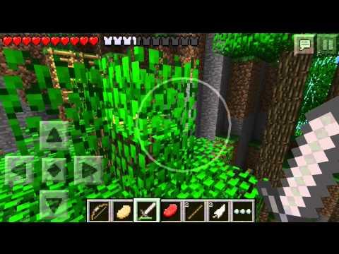 Minecraft PE Hunger Games: Ep. 2 - Diamond Sword?