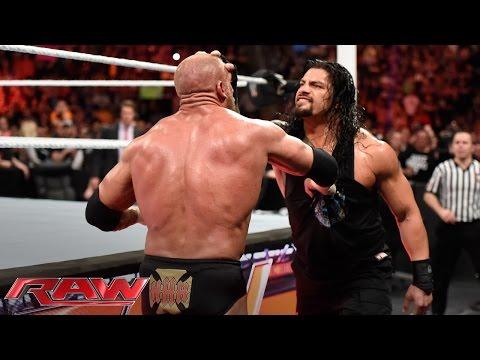 Xxx Mp4 Roman Reigns Brutalizes Triple H Raw March 14 2016 3gp Sex