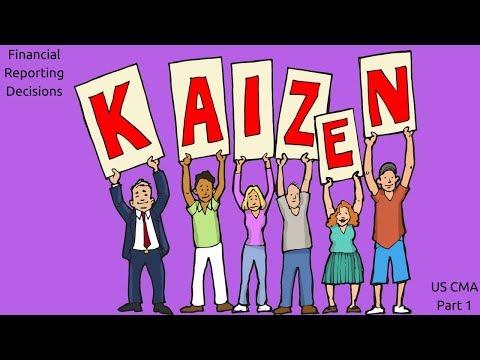 Kaizen | Cost Managment| US CMA Part 1| US CMA course