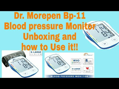 Dr. Morepen Bp-11 Blood pressure Monitor Unboxing, Comparison and how to Use it!!