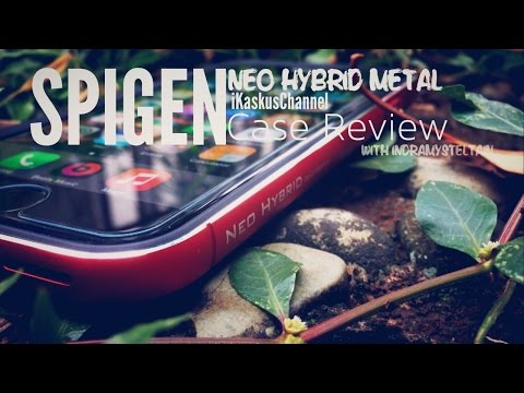SPIGEN Neo Hybrid Metal iPhone 6 Case Review - Indonesia