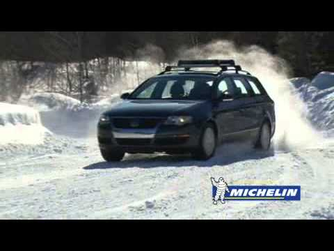 How to Brake Safely on Snow | Michelin® Winter Driving Academy