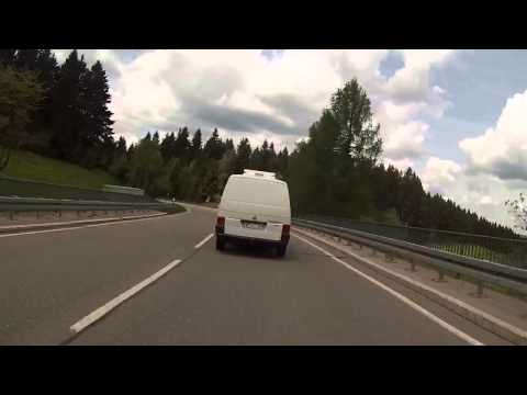 Black forest go pro Freiburg road north