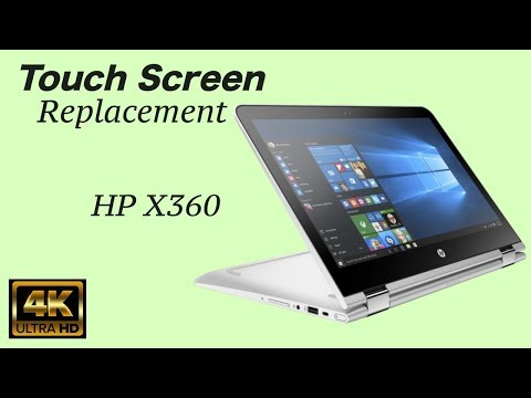 HP X360  Screen Replacement
