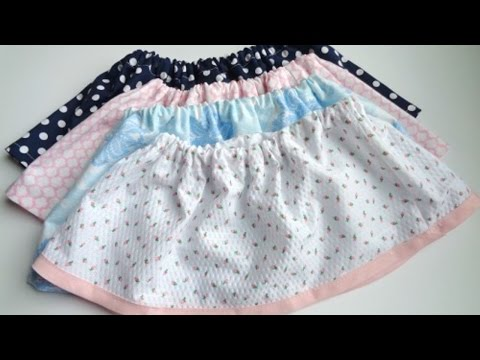 How To Sew A Cute Skirt  For Any Girl - DIY Style Tutorial - Guidecentral