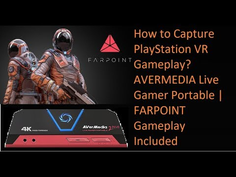 How to Capture PlayStation VR Gameplay - AVERMEDIA Live Gamer Portable