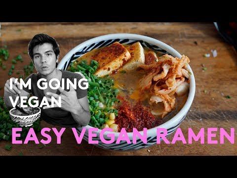 QUICK VEGAN RAMEN RECIPE and Why I'm Going Vegan for 45 days