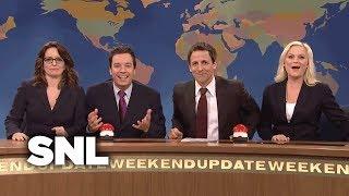 Weekend Update: Christmas Toy Joke Off w/ Seth, Amy, Jimmy & Tina - SNL