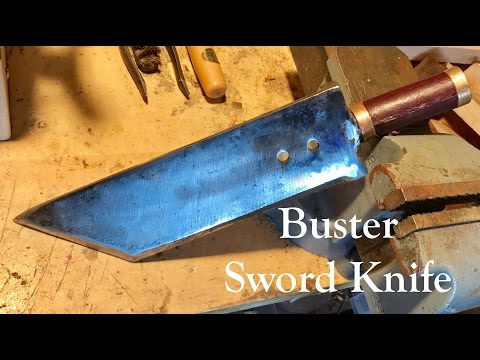 Making a Buster Sword (Knife edition)