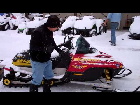 Used Snowmobiles at Power World - 2002 Summit & MX Z 700