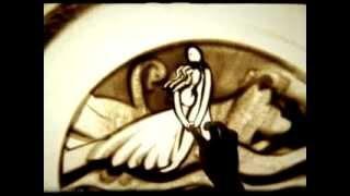 Красивая песня о любви. И песочный клип. Дато & Илана Яхав   Махинджи Вар