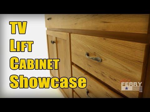 TV Lift Cabinet Showcase Video
