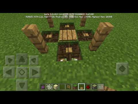 MCPE TUTORIAL: HOW TO MAKE QUICKSAND AND FENCE TRAP (IT WORKS)